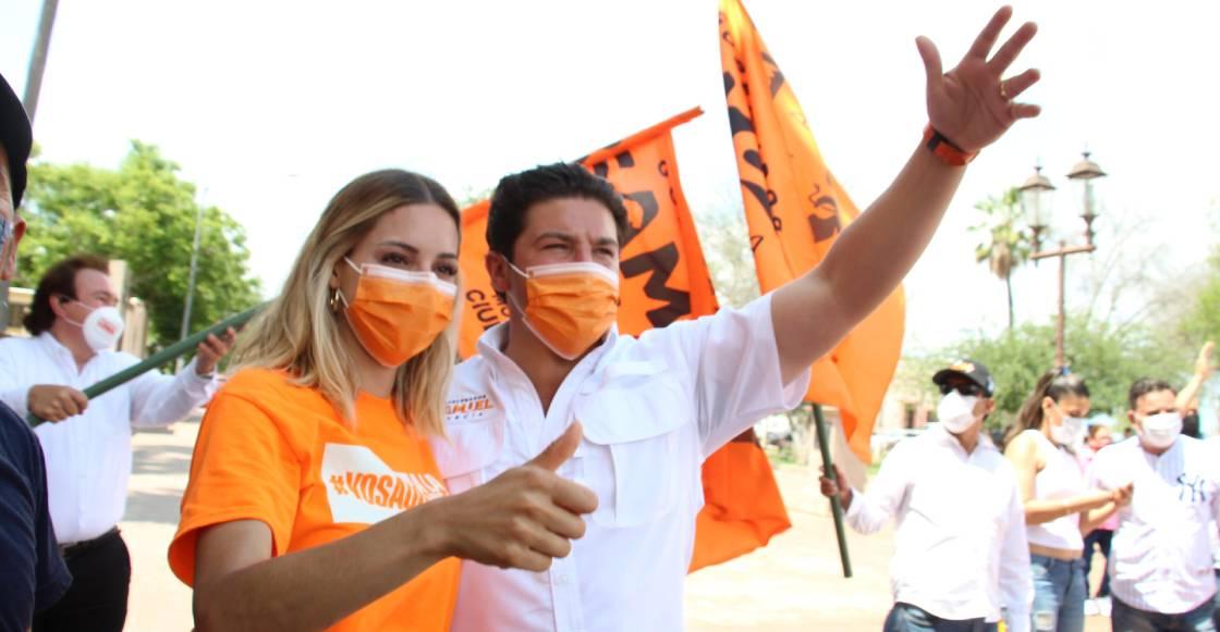 Samuel García ya impugnó multa del INE por apoyo de Mariana Rodríguez