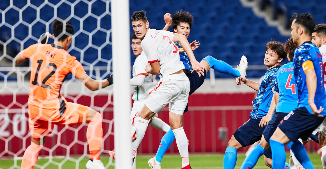 ¡A nada el empate! Los goles con los que Japón terminó pidiendo la hora contra México en Tokio 2020
