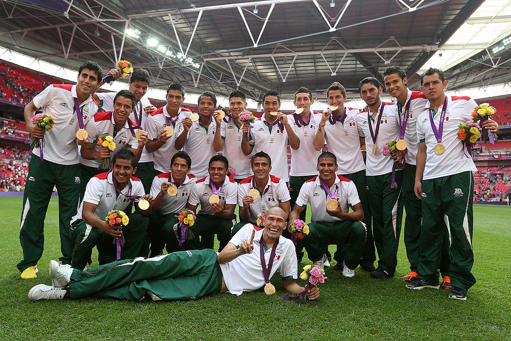 Selección Mexicana que ganó medalla de oro en Londres 2012