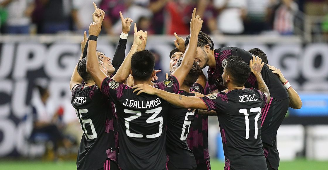 Selección México vs Canadá Copa Oro