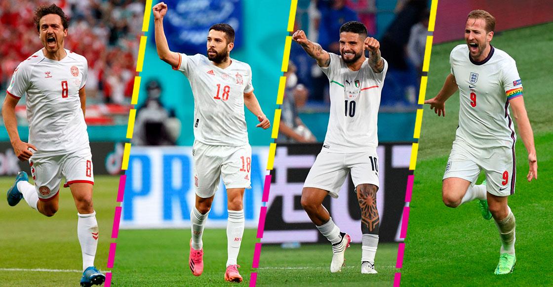 Fechas y cruces: Así se jugarán las semifinales de la Eurocopa 2020