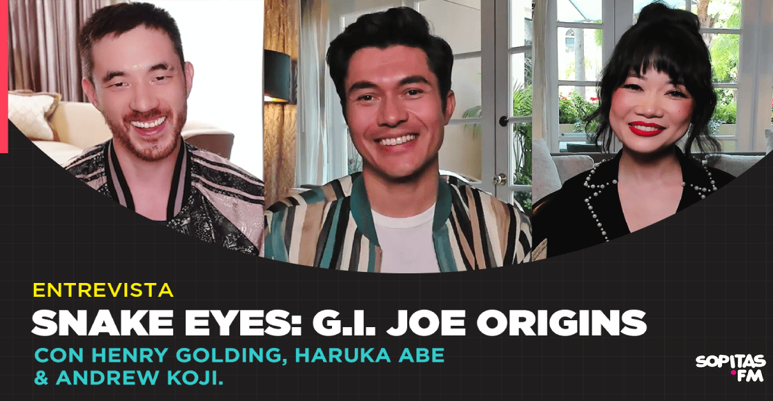 El origen y el lado más humano de un guerrero: Una entrevista con el elenco de 'Snake Eyes'