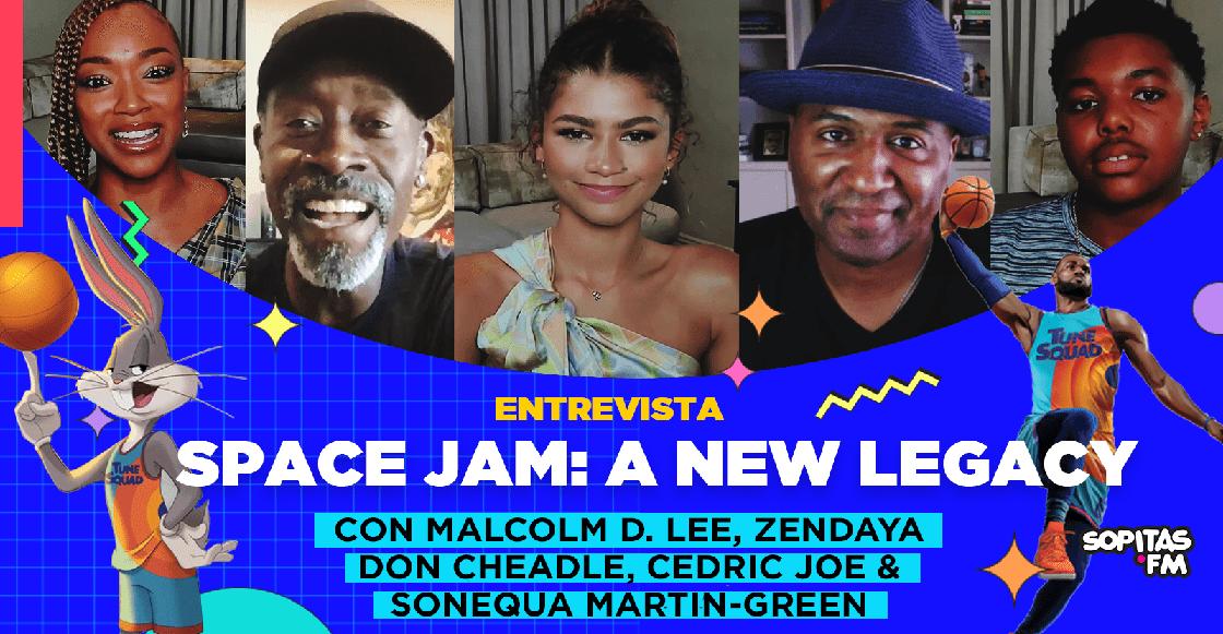 El regreso a la duela con mucha diversión: Una entrevista con elenco de 'Space Jam: A New Legacy'