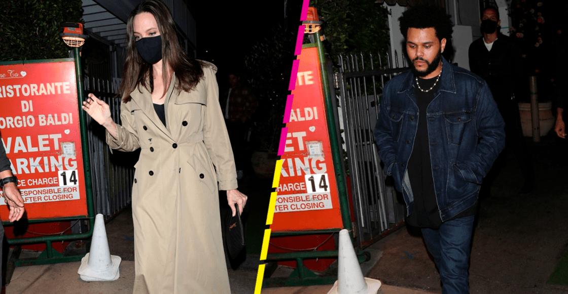 Fíjate, Paty: Captan a The Weeknd saliendo con... ¿Angelina Jolie?