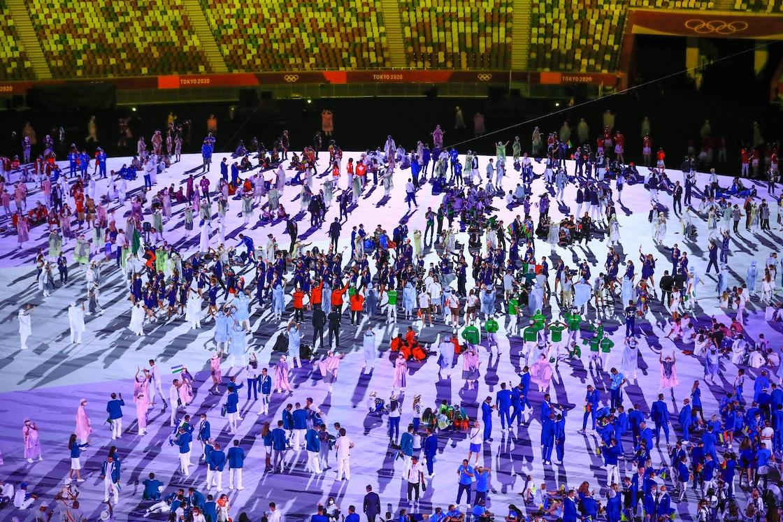 ¡Espectacular! Las imágenes que nos dejó la ceremonia de inauguración de Tokio 2020