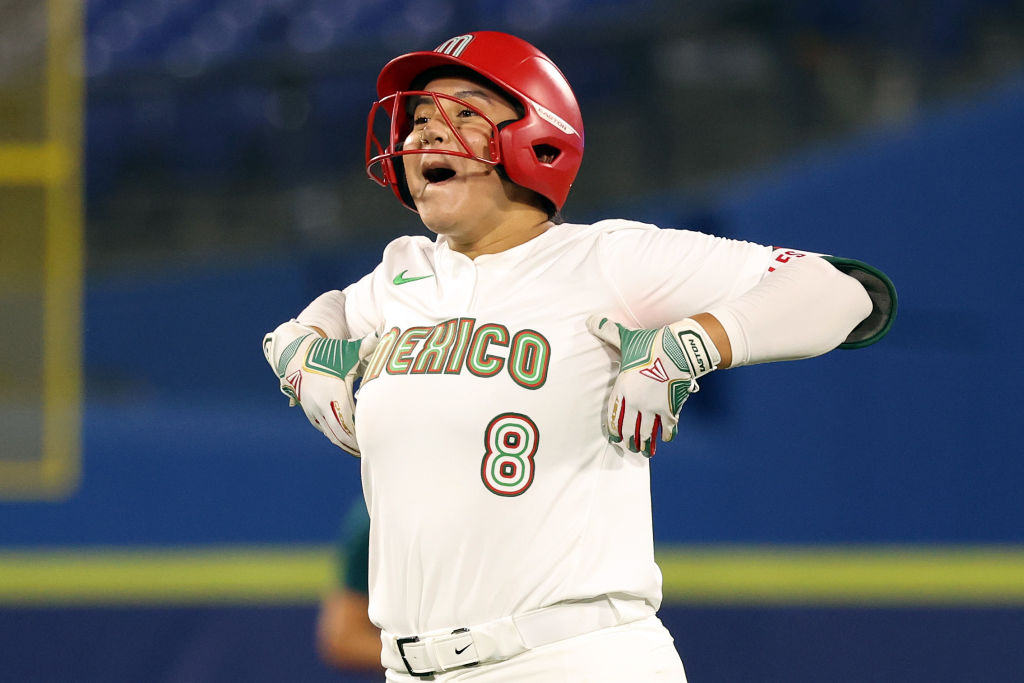 Victoria Vidales, selección mexicana de Softbol
