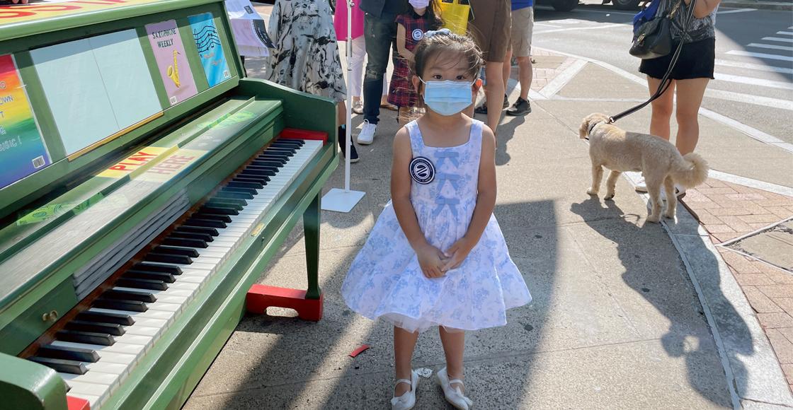 Brigitte Xie, la niña prodigio en el piano