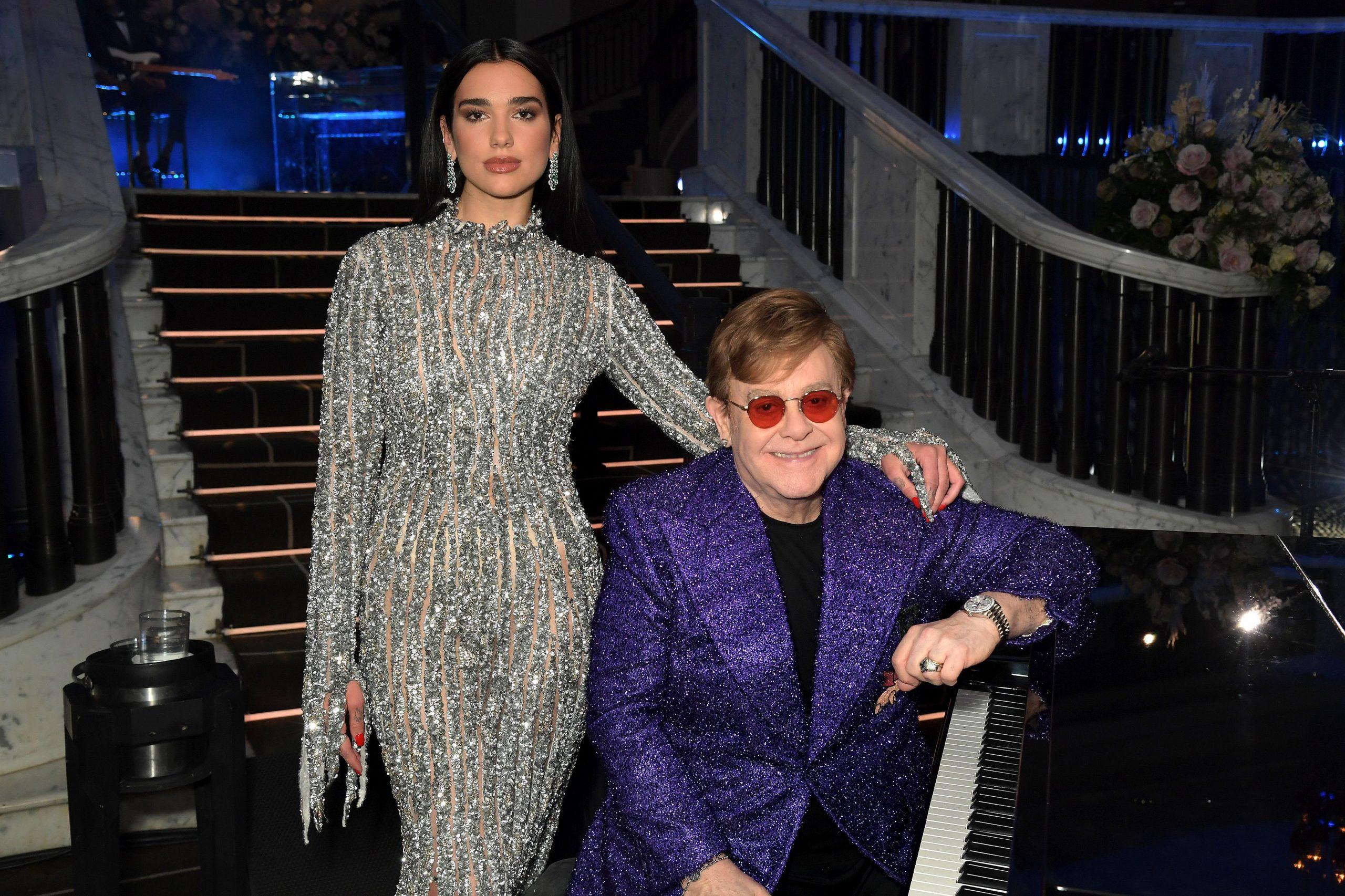 "Dua Lipa y Elton John se juntan en un mashup funky llamado ""Cold Heart"""