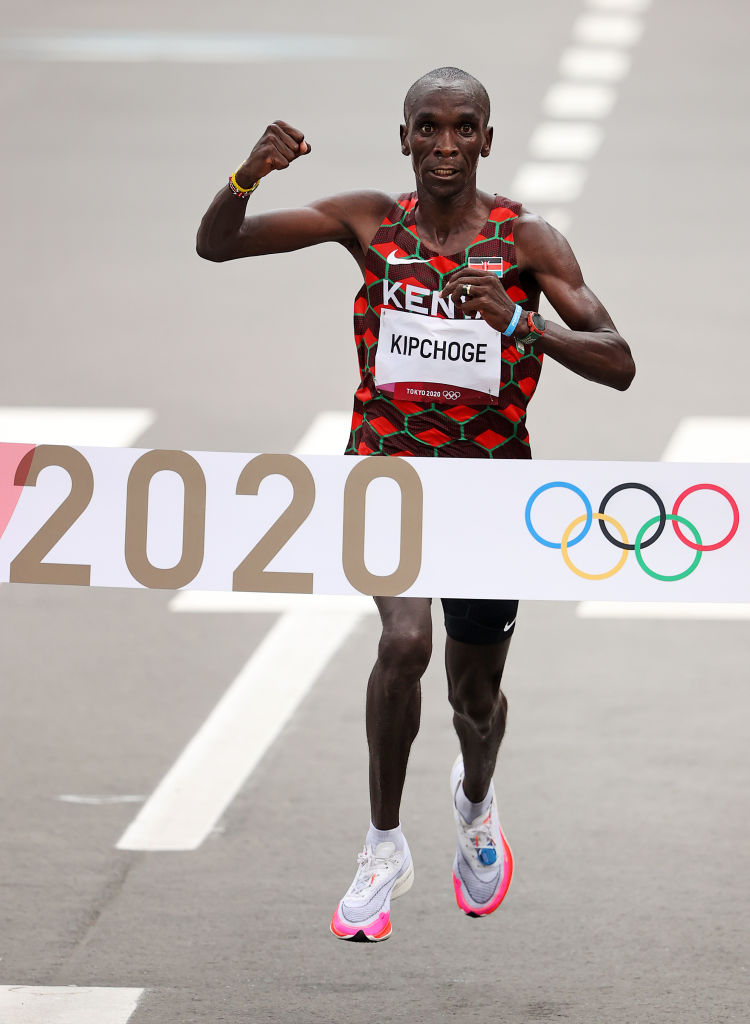 Eliud Kipchoge, la leyenda de maratón que se inspira en Lionel Messi y Cristiano Ronaldo