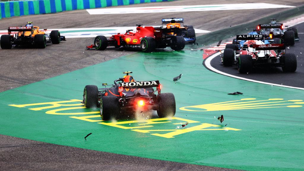 Accidente en el GP de Hungría provocado por Valtteri Bottas