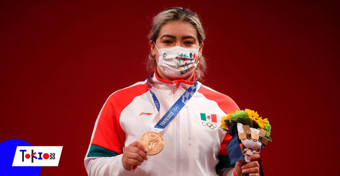 Aremi Fuentes, la halterista fortaleció músculos y autoestima tras ser discriminada en su federación