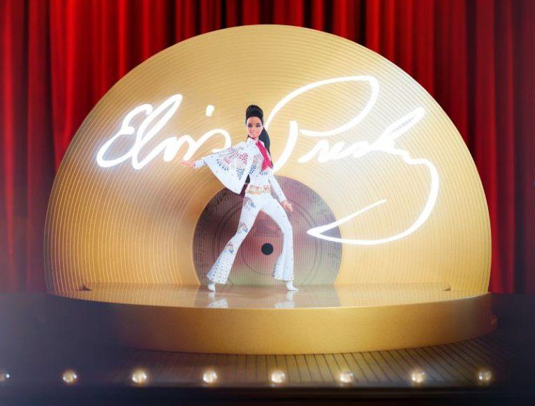 'Barbie' celebra a Elvis Presley con una muñeca de edición especial