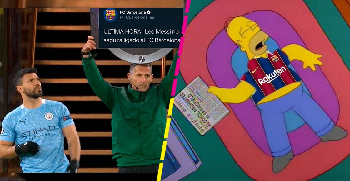 Los memes que dejó el anuncio del Barcelona sobre el fin de vínculo con Messi