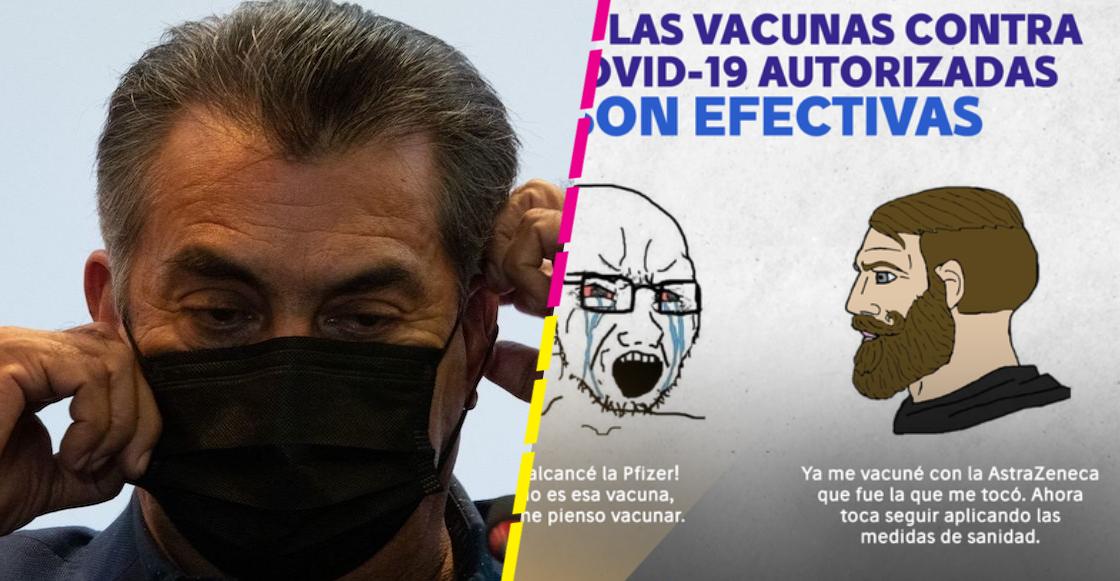 'El Bronco' regaña con un meme a jóvenes que no aceptan la vacuna que les toca