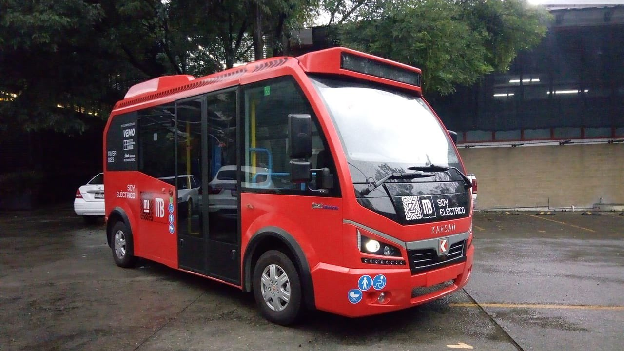 Nace en CDMX 'Metrobusito', un Metrobús bebé 100% eléctrico