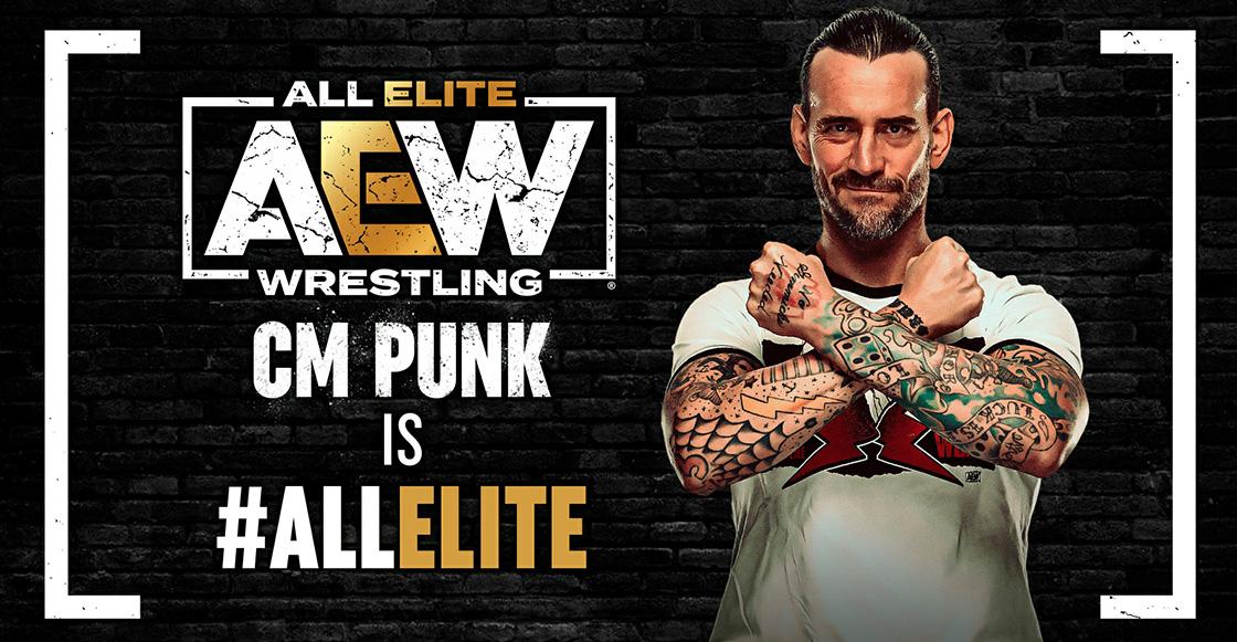 ¡Histórico! AEW trae de regreso a CM Punk a la lucha libre despúes de 7 años