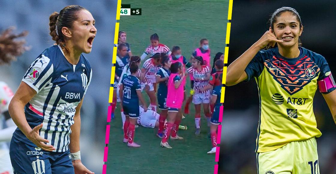 28 goles, el récord cercano de Monsiváis y una campal: Así fue la J6 de la Liga Femenil