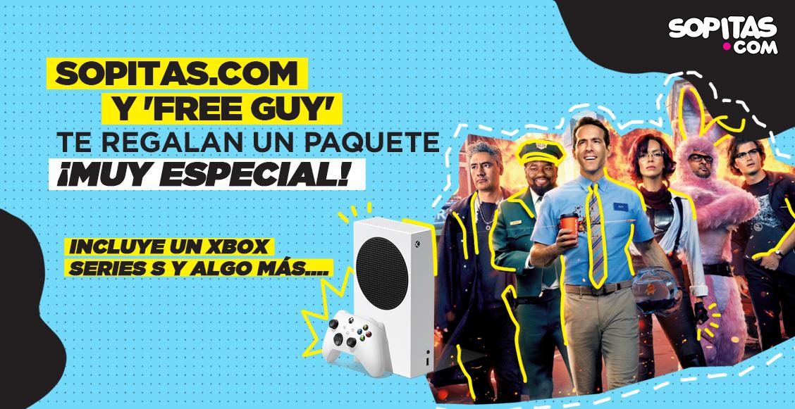 ¡Sopitas.com y 'Free Guy' te regalan un Xbox Series S y otras sorpresas!