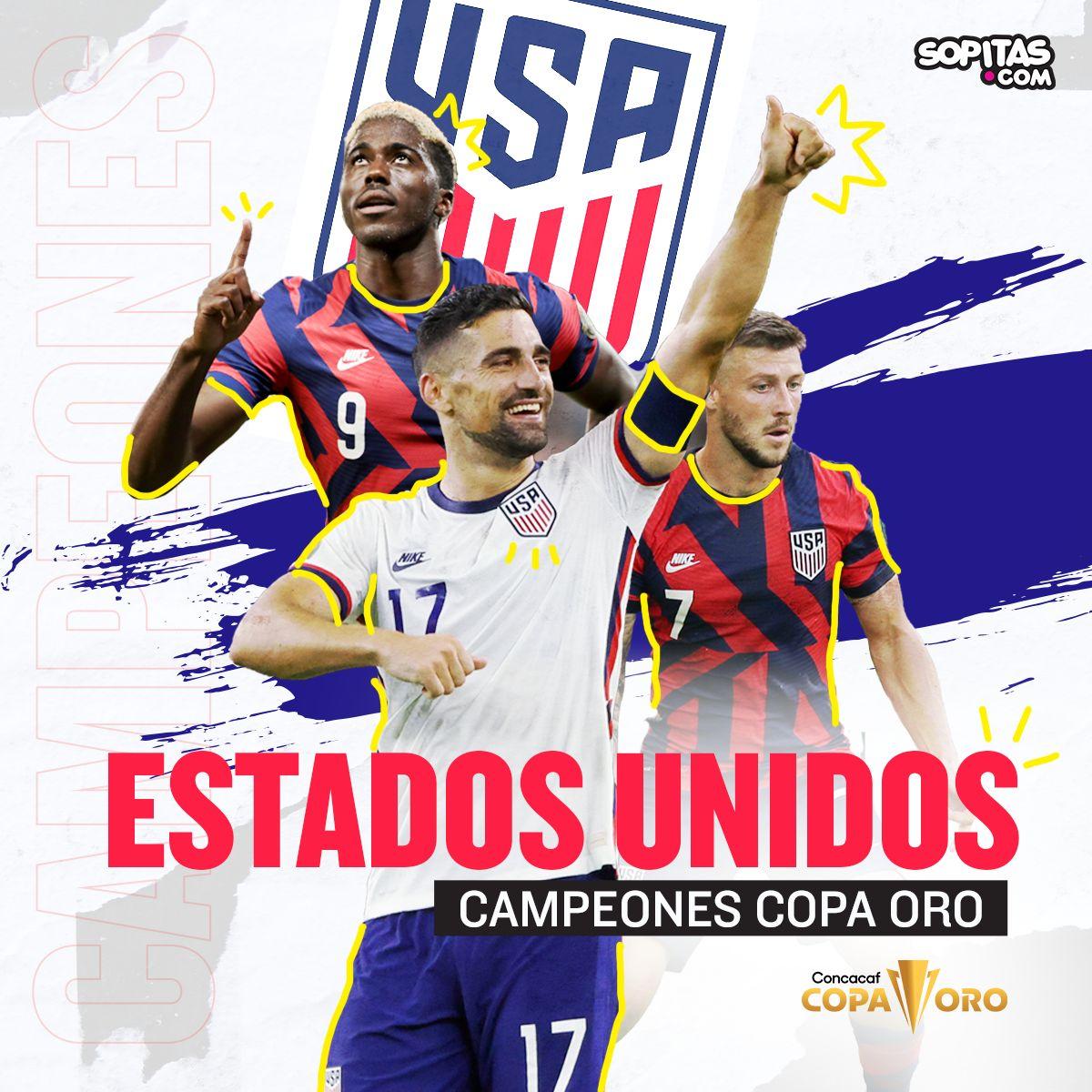 Estados Unidos campeón de la Copa Oro