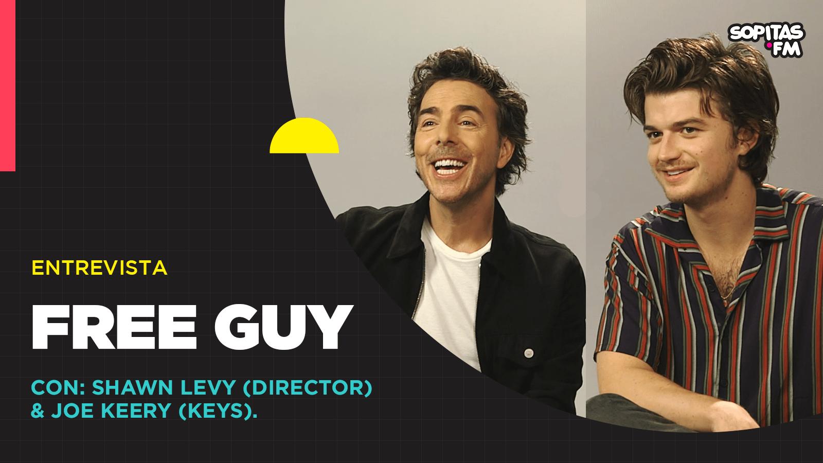 Cuestionar nuestras vidas: Una entrevista con Shawn Levy por 'Free Guy'