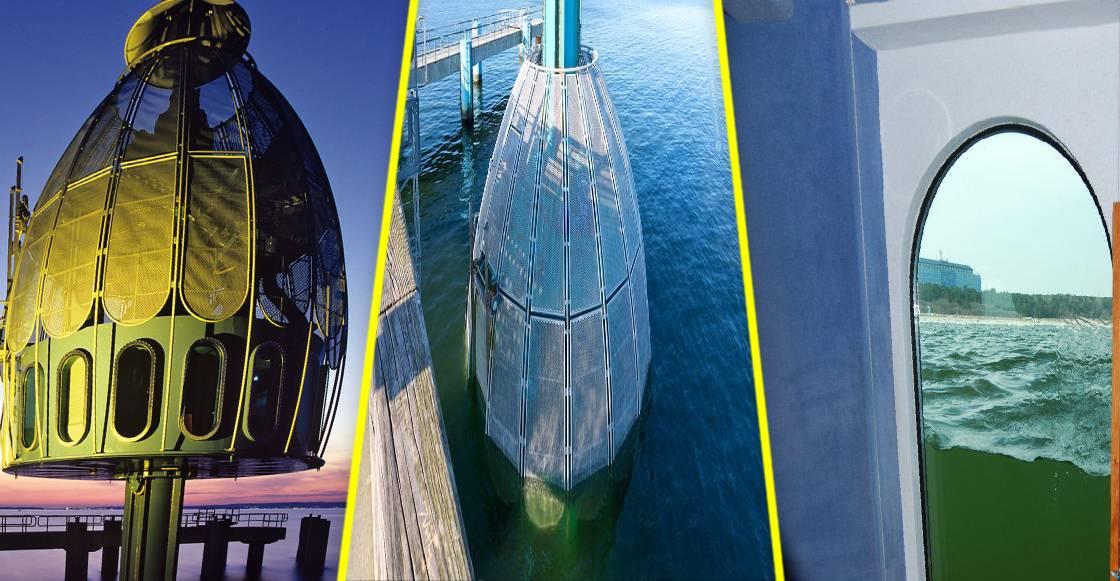 ¿Solo sabes nadar de perrito? Ahora puedes conocer el fondo del mar en estas góndolas submarinas