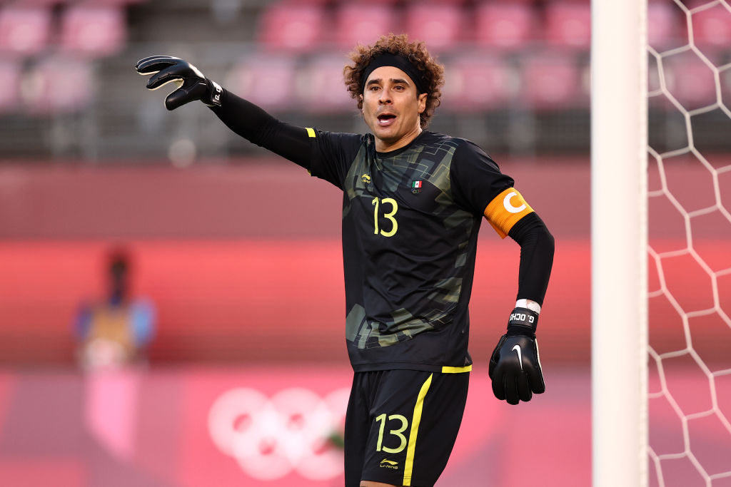 Guillermo Ochoa vs Brasil en Tokio 2020