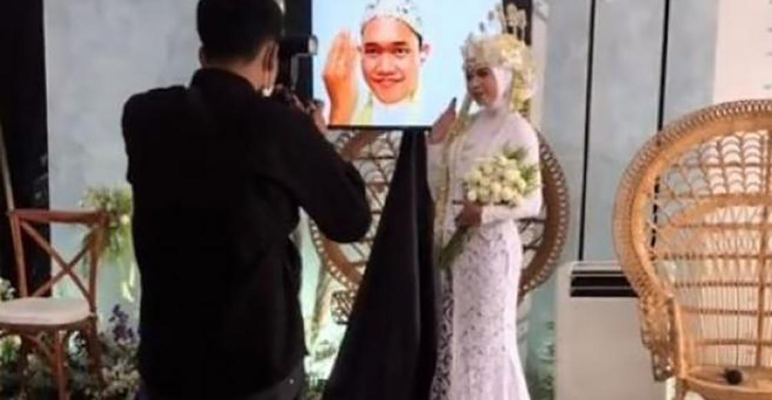 ¿Hasta que el Wi-Fi los separe? Hombre se casa por videollamada tras dar positivo a COVID
