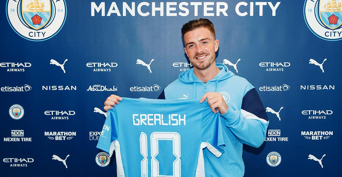 Jack Grealish es nuevo jugador del Manchester City por 117 millones de euros
