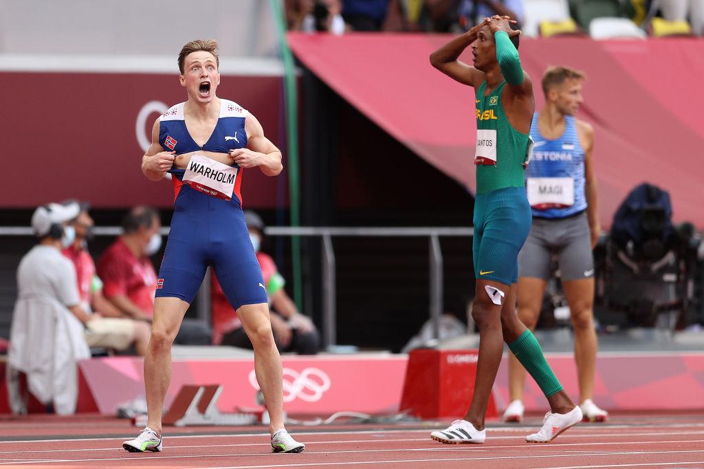 Karsten Warholm rompió el récord olímpico
