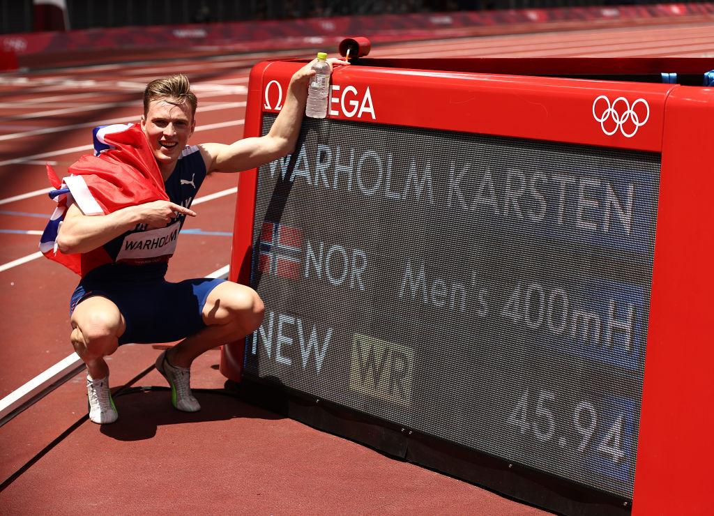 Karsten Warholm récord olímpico
