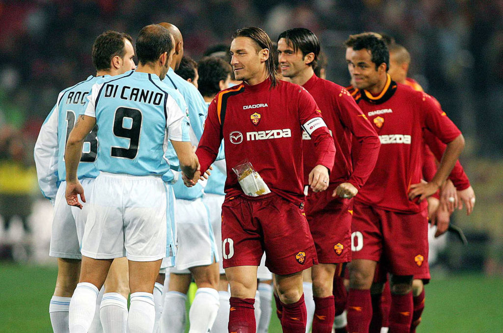Partido entre Lazio vs Roma