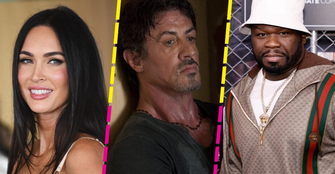 ¡Habrá nueva película de 'Los indestructibles' con Stallone, Megan Fox y 50 Cent!