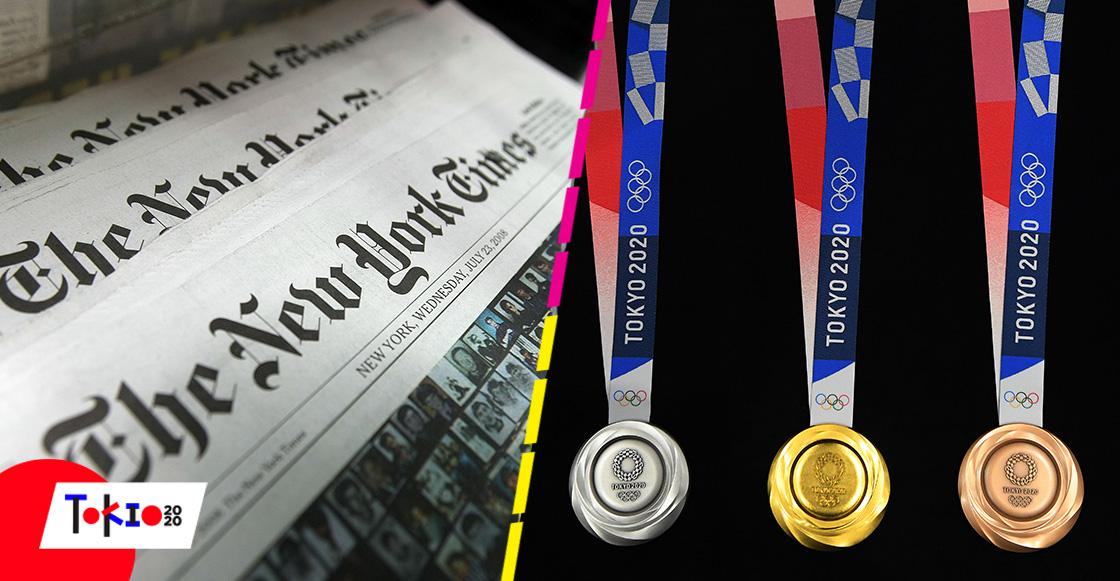 ¡Chale! Medios de EU alteran posiciones del medallero para que China no esté en primer lugar