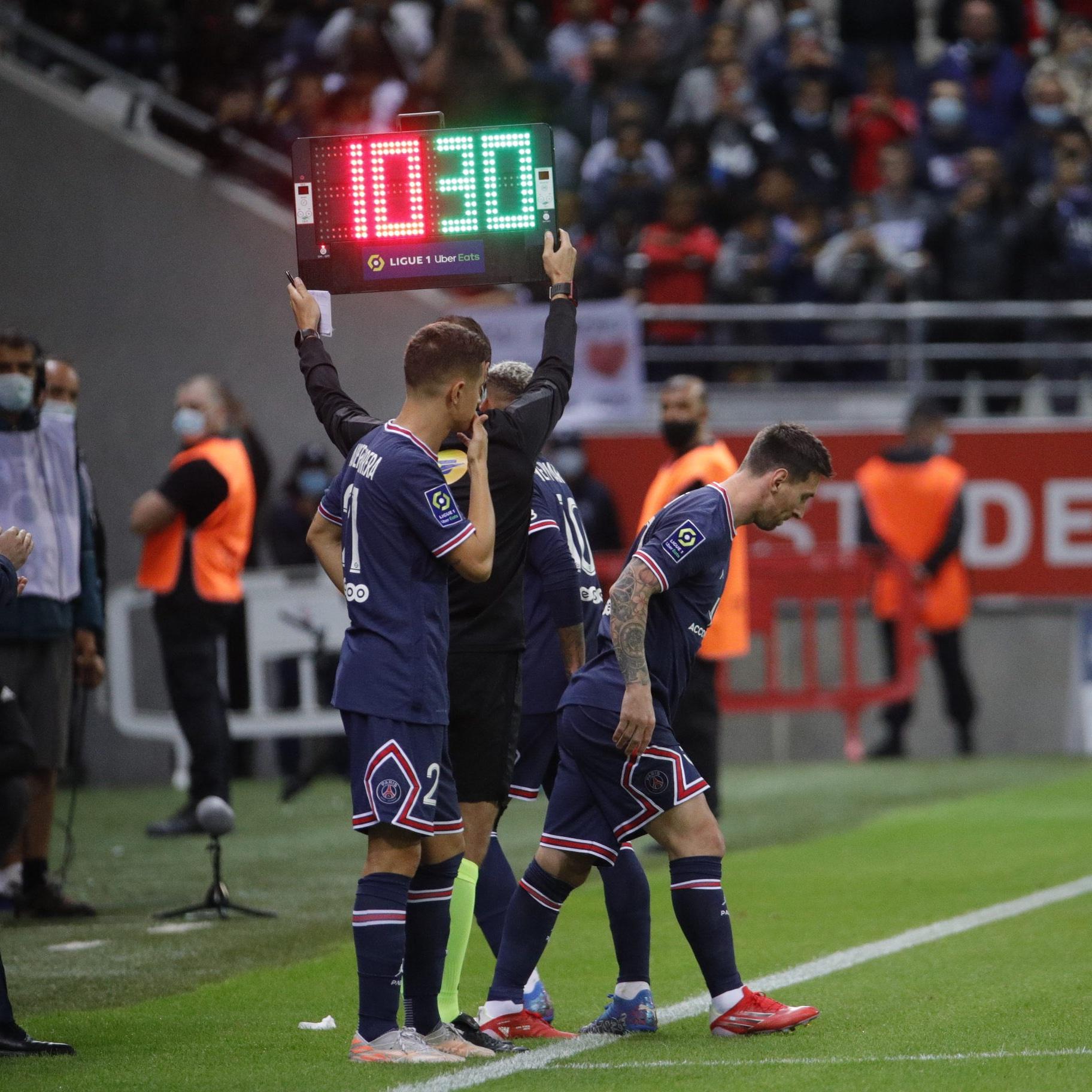 Messi debut con el PSG