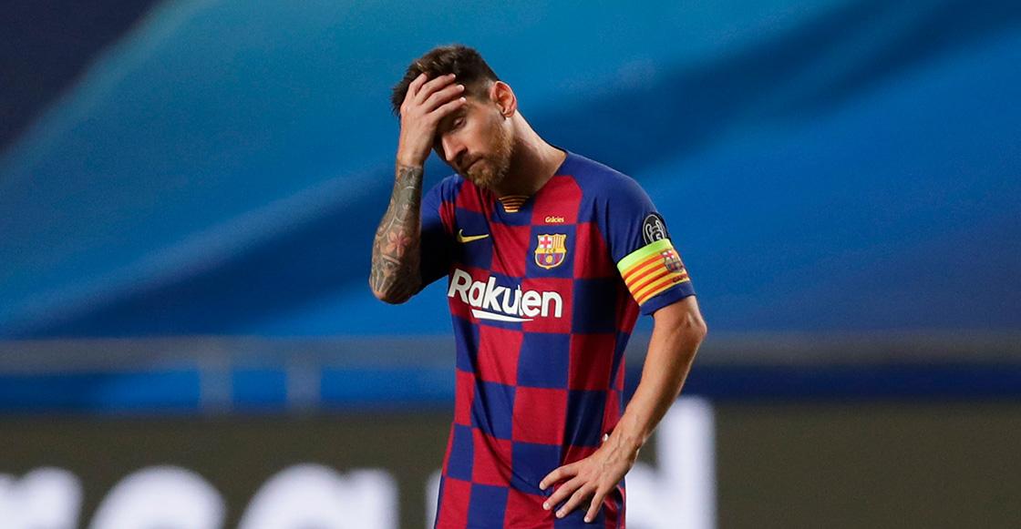 Lionel Messi fuera del Barcelona