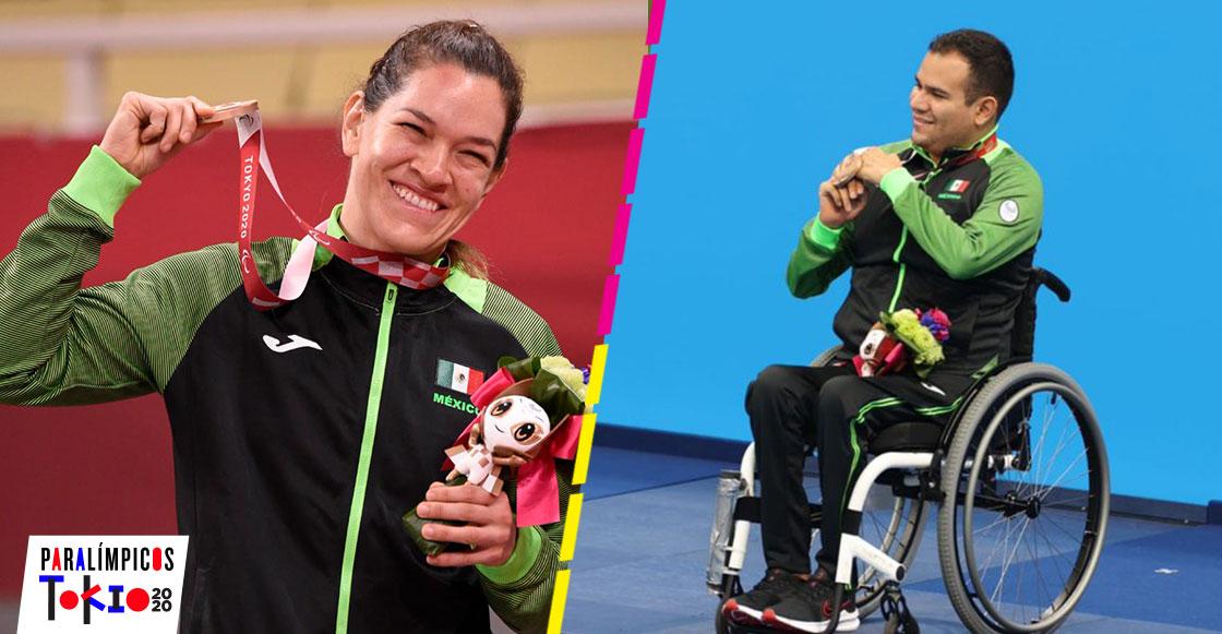 Mientras dormías: Doble medalla de bronce para México en los Juegos Paralímpicos de Tokio 2020