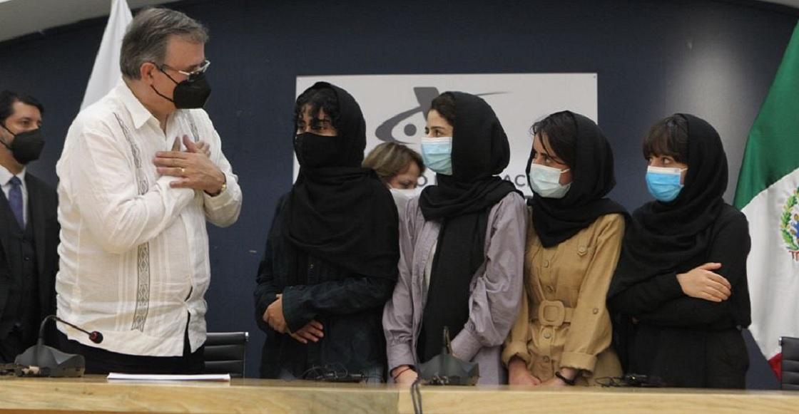 mujeres afganas marcelo ebrard sre