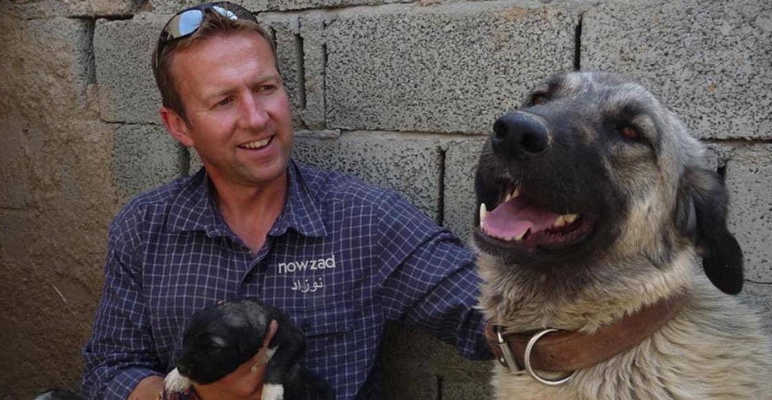 Paul Farthing: El hombre que intenta rescatar a 200 perros y gatos de  Afganistán
