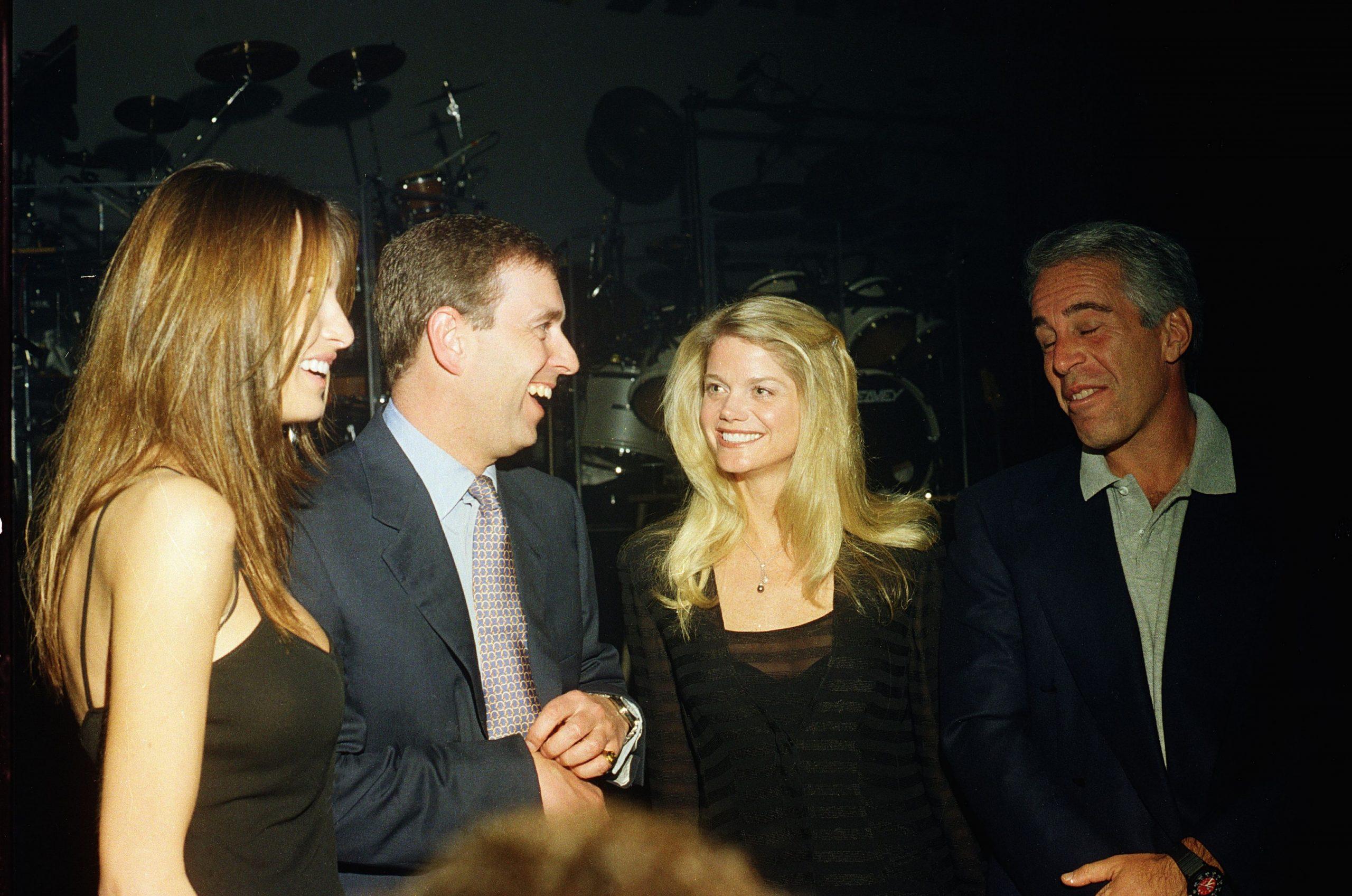 Príncipe Andrew y Jeffrey Epstein