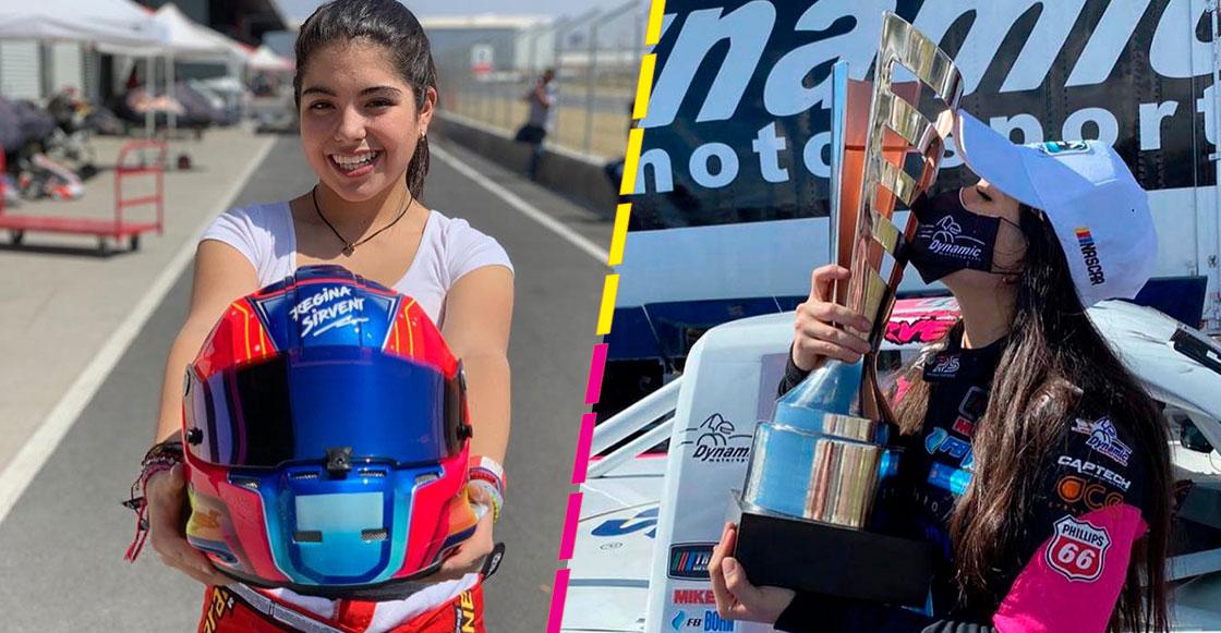 Regina Sirvent, la piloto mexicana que reclama un lugar para las mujeres latinas en Nascar