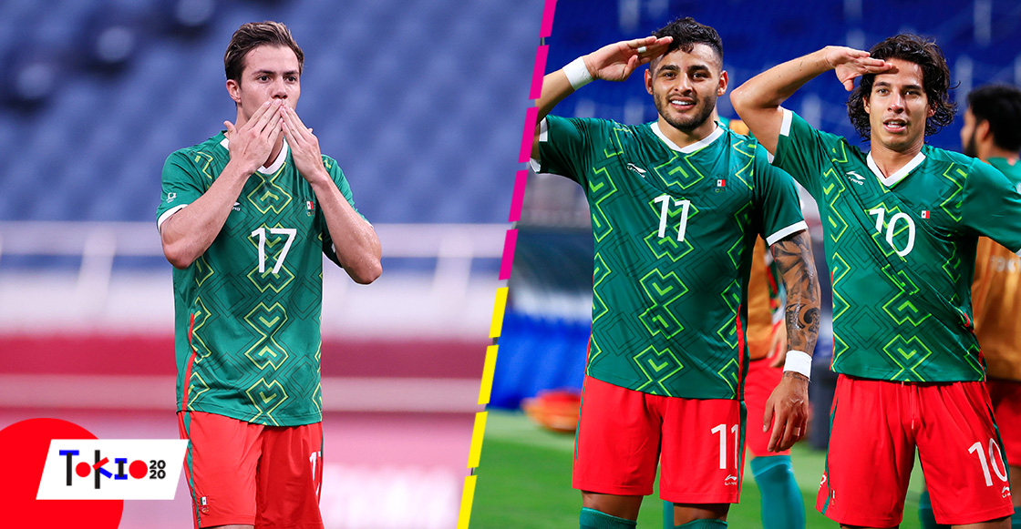 Revive los goles con los que México consiguió el bronce en futbol ante Japón