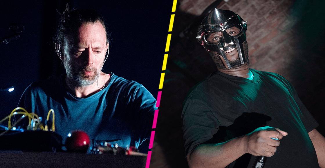 "Thom Yorke rinde homenaje a MF DOOM con el remix de ""Gazzillion Ear"""