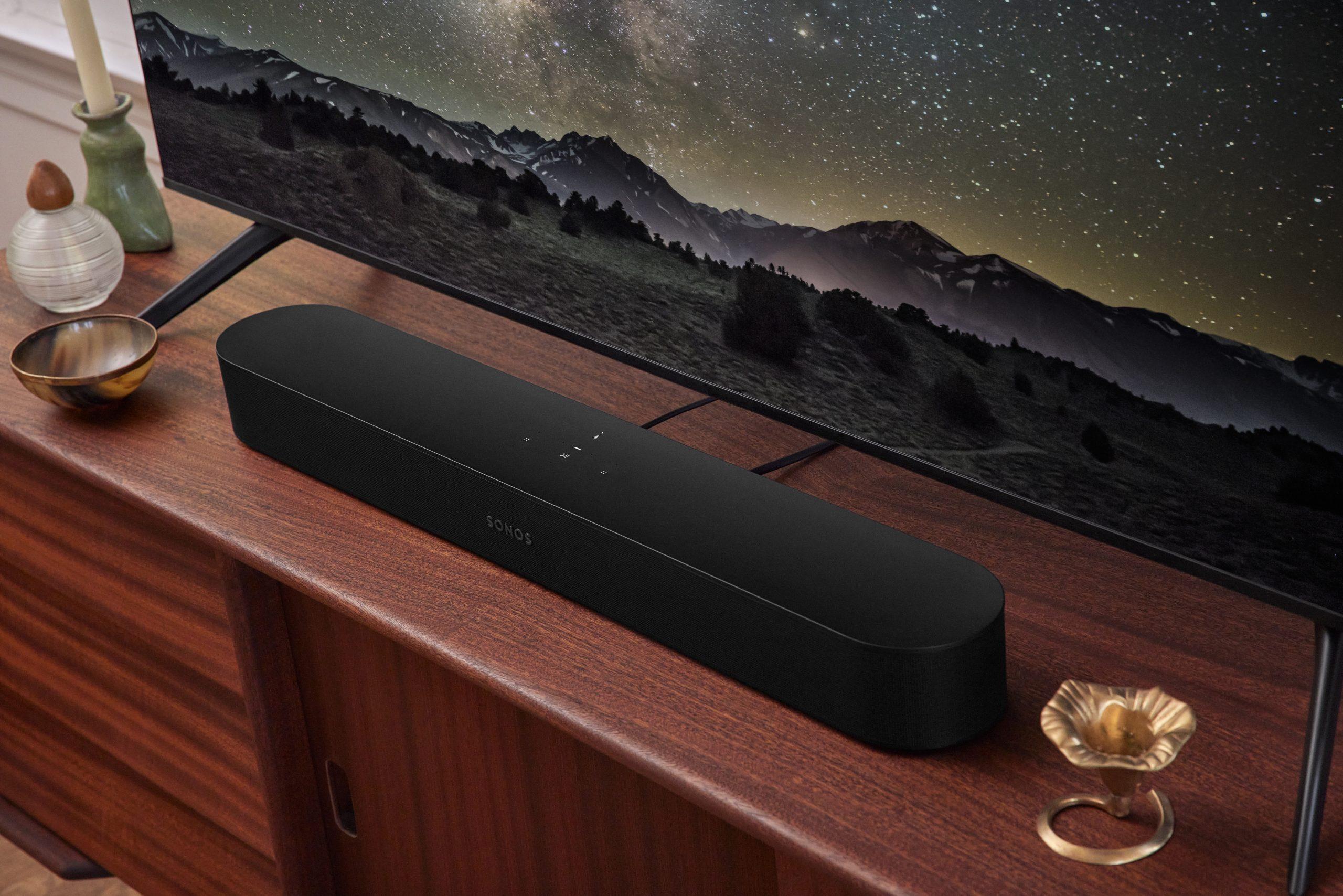 Sonos presenta la nueva versión de Beam, su barra de sonido con Dolby Atmos