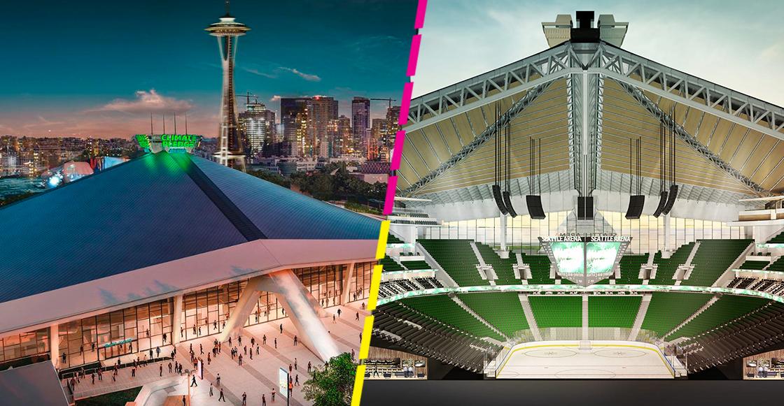 ¡El futuro es hoy! Así funcionará el 'Climate Pledge Arena', la nueva casa de Seattle en la NHL