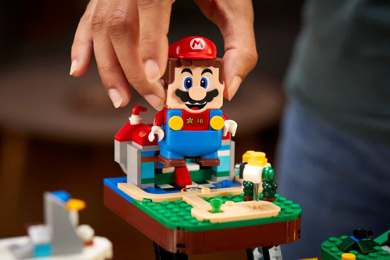 Espectacular: LEGO y Nintendo lanzarán un set por los 25 años de 'Super Mario 64'