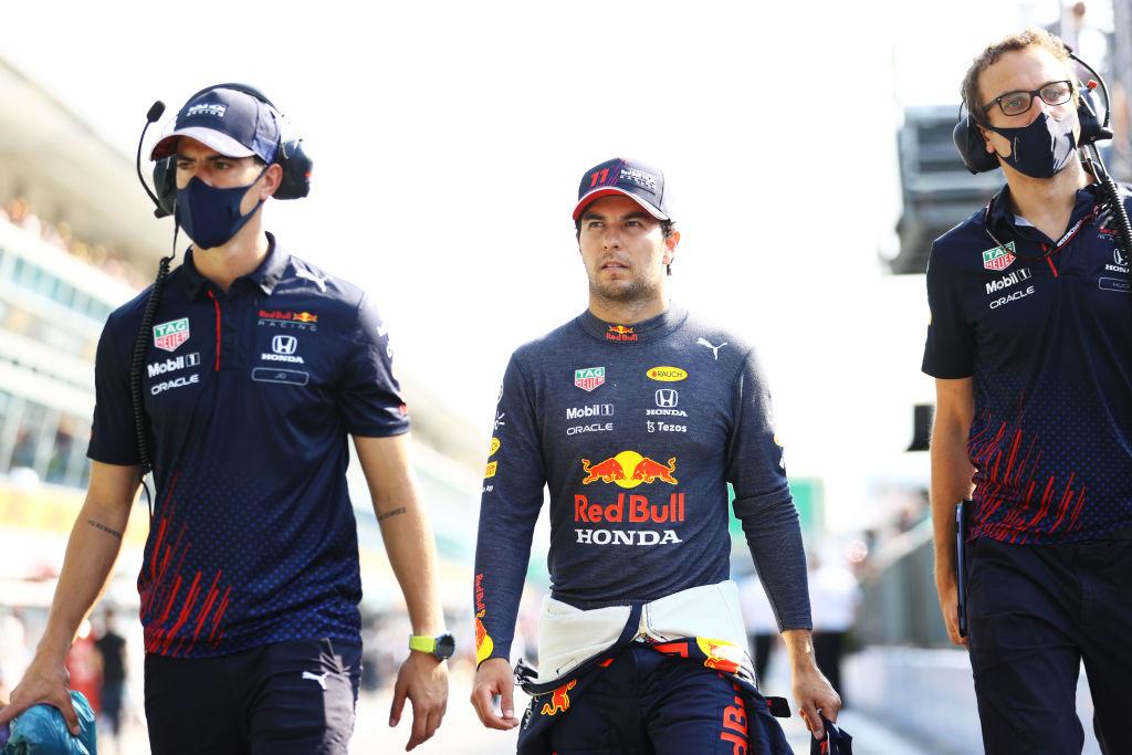La sanción que le arrebató el podio a Checo Pérez en el Gran Premio de Italia