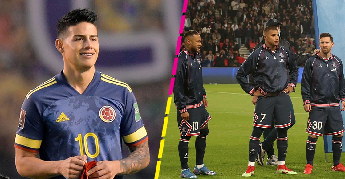 La cláusula de James Rodríguez que lo convertiría en compañero de Messi, Neymar y Mbappé
