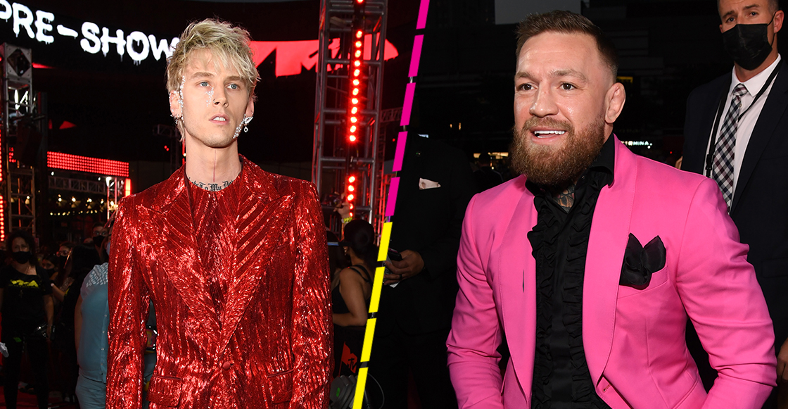 Wait, what? Conor McGregor invita a Machine Gun Kelly a su siguiente pelea de UFC