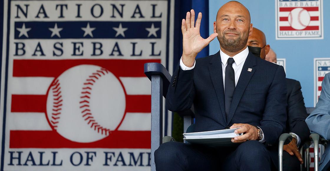 ¡Hola Cooperstown! Derek Jeter es inmortalizado en el Salón de la Fama del béisbol
