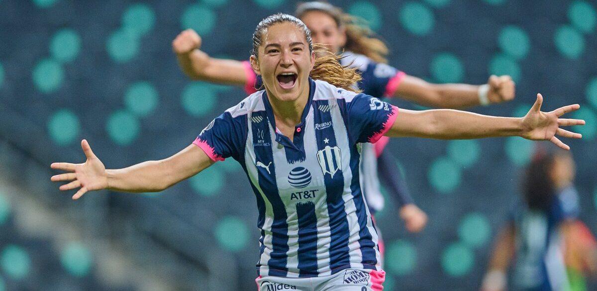Desiree Monsiváis, de Canadá y Kazajistán a marcar 100 goles en la Liga MX Femenil